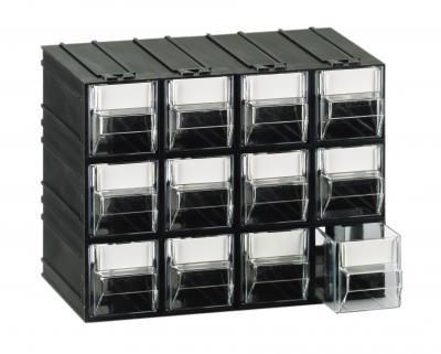 Cassetti In Plastica Componibili.Cassettiera Componibile Da 12 Cassetti Trasparenti Tipo T A1
