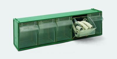 Cassettiere In Plastica Per Magazzino.Cassettiera Sovrapponibile Da 5 Cassetti Basculanti Madia 3